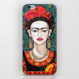 Frida - queen of hearts closer iPhone Skin