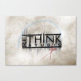 ReThink Studio Marty Sketch Canvas Print