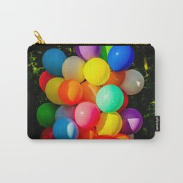 Colorful Toy Balloons Carry-All Pouch