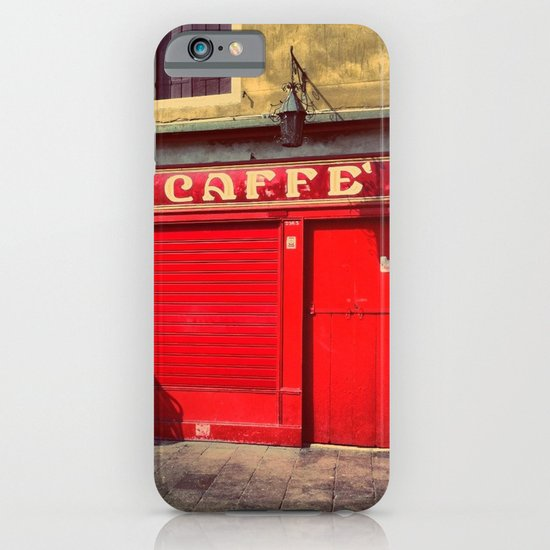 Caffè in Red iPhone & iPod Case