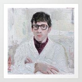Graham Coxon #3 Art Print