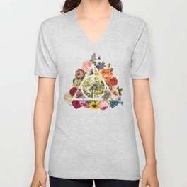 Deathly Clear Unisex V-Neck