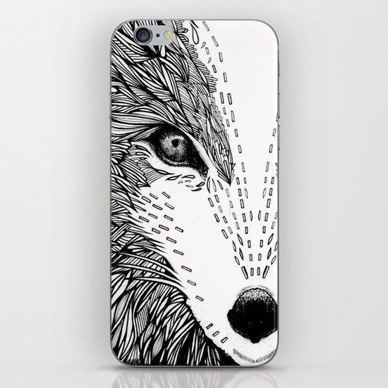 wolf like me iPhone & iPod Skin