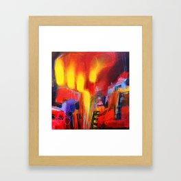 Journeys To The Lowerworld #5 Framed Art Print