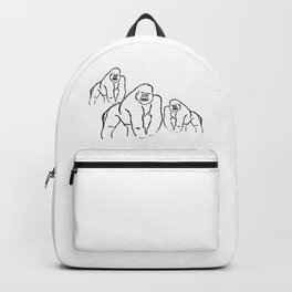 Gorillas Backpack
