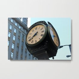 Business Time Metal Print