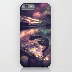 Magical Mountain Lake : Eggplant Teal iPhone 6s Slim Case