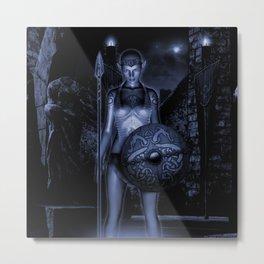 MORRIGHAN Metal Print