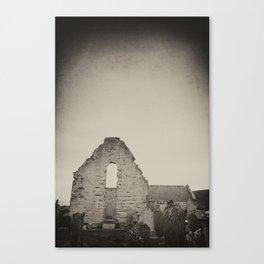 Ruined Church Canvas Print