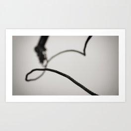 Life In Line Art Print