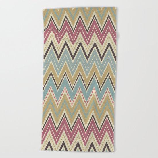 Ethnic patterns. Tribal pattern . Beach Towel