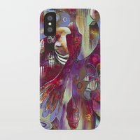 """flora bowley iPhone & iPod Cases featuring """"Manifest"""" Original Painting by Flora Bowley by Flora Bowley"""