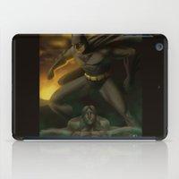 gotham iPad Cases featuring Gotham Nights  by Jonathan Snowden