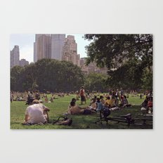 In My Paper City Canvas Print