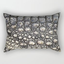 Crocodile Scale Rectangular Pillow