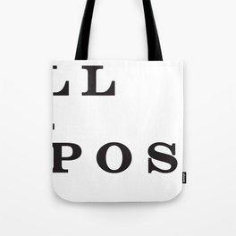 Full Exposure Tote Bag
