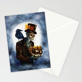 Shadow Man 4 Stationery Cards