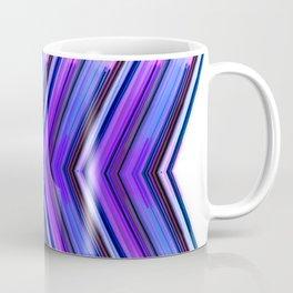 Side Line - Ultra Violet Minimal Geometric Abstract Coffee Mug