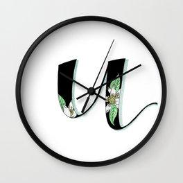 uniq fruit Wall Clock