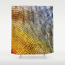 Iguana Skin Shower Curtain