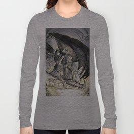 Washington the Dragon Slayer Long Sleeve T-shirt