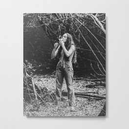 70's Smoker Metal Print