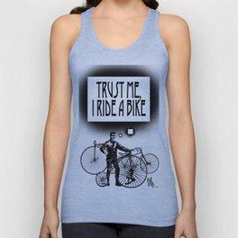 Trust me, I ride a Bike Unisex Tank Top