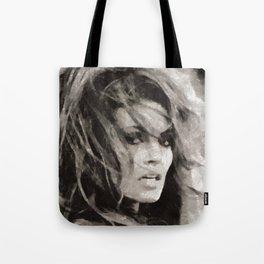 Raquel Welch Portrait Tote Bag