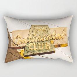 The Continental Club Rectangular Pillow