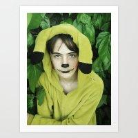 onesie Art Prints featuring Onesie Wonder by Dream Realm Photography and Art