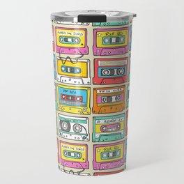 Nostalgia Audio Music Mix Cassette Tape Travel Mug