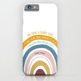 Amanda Gorman Inspiration Quote iPhone Case