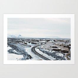 Near Myvatn Art Print