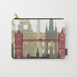 London skyline poster Carry-All Pouch