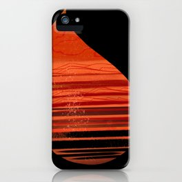 Warm Raindrops iPhone Case