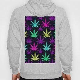 Colorful Marijuna Weed Hoody
