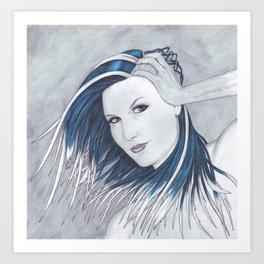 Rhapsody in Ice Art Print