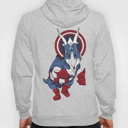 Captain Ameritops - Superhero Dinosaurs Series Hoody