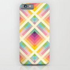 Retro Rainbow Slim Case iPhone 6s
