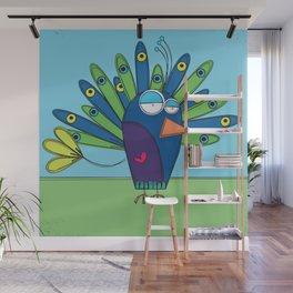 Peacock - Paon Wall Mural