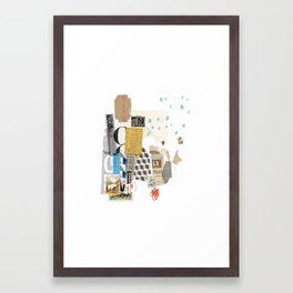 It Always Works Out Framed Art Print