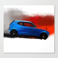 honda Canvas Prints featuring Honda Z by Vadim Artemyev
