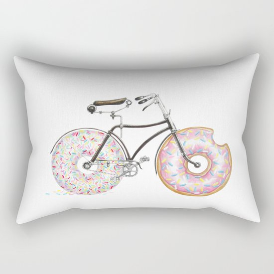 Bike Me Rectangular Pillow