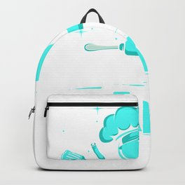 Baking My Heart Chef or Cook Gift Backpack