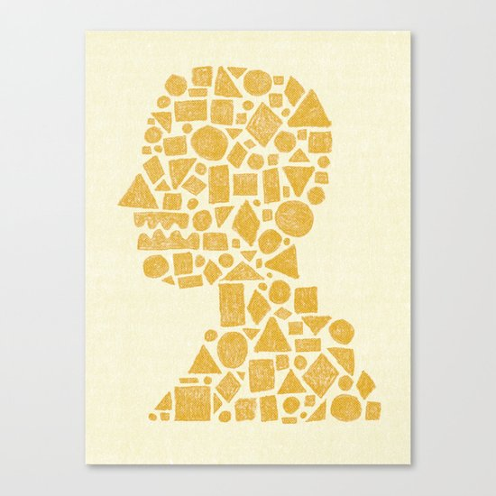 Untitled Silhouette. Canvas Print