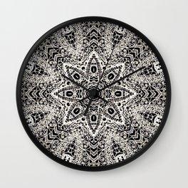 Mehndi Ethnic Style G418 Wall Clock