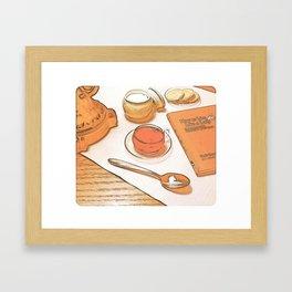 """Afternoon Tea"" Framed Art Print"