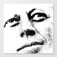 jfk Canvas Prints featuring JFK by Mullin