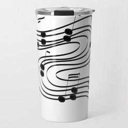Music Dance Travel Mug