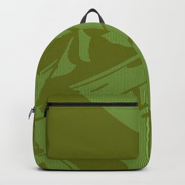 Cream Lines Backpack
